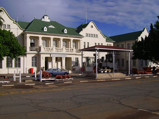 Railway station Windhoek