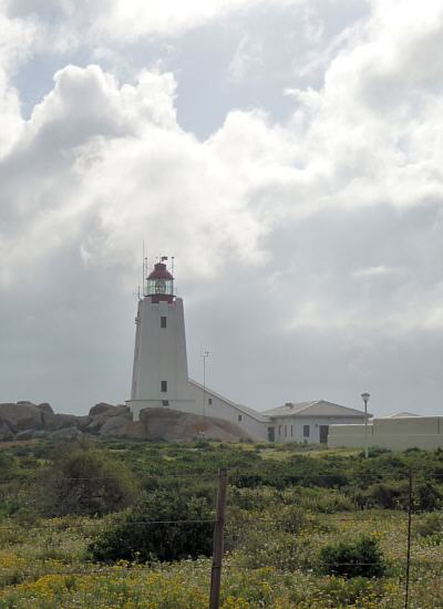 lighthouse at Cape Columbine