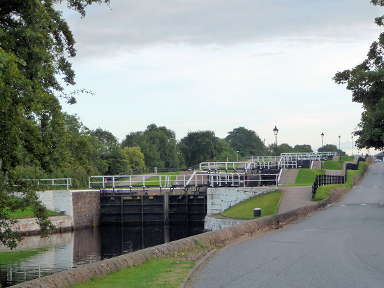Schleusen der Muirtown Locks