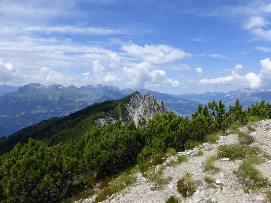 View from Helwangspitz to Alpspitz