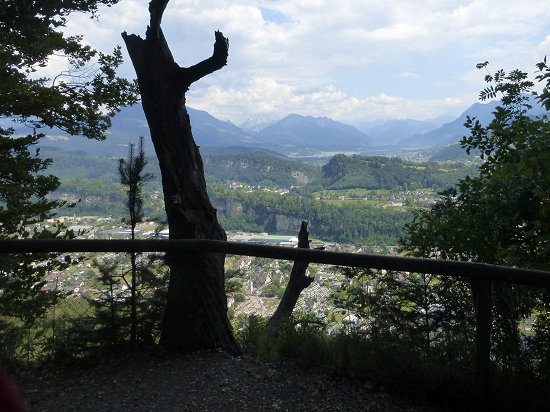 View from Eschnerberg in direction of Feldkirch