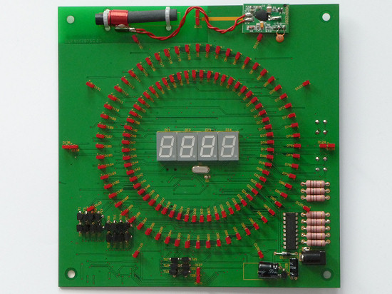 DCF77 controlled clock KLU2001 by ELV